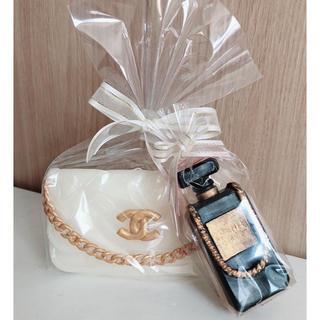 フランフラン(Francfranc)のバッグ型香水型キャンドルパヒューム型(キャンドル)