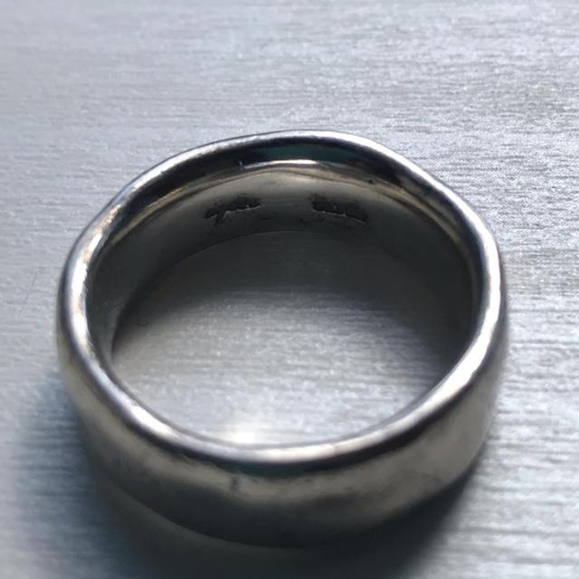 agete(アガット)のagate silver ring 17号 メンズのアクセサリー(リング(指輪))の商品写真