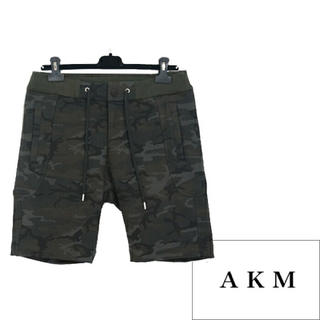 エイケイエム(AKM)のAKM ショートパンツ ソリッドハーフ オリジナルストレッチジャージー(ショートパンツ)