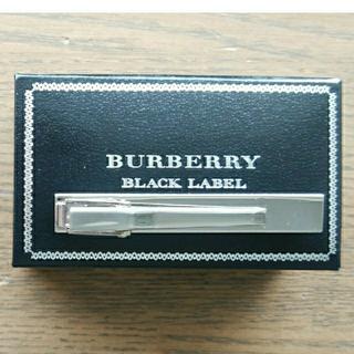 バーバリーブラックレーベル(BURBERRY BLACK LABEL)のBURBERRY BLACK LABEL ブランドロゴ タイピン(ネクタイピン)