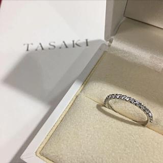タサキ(TASAKI)の美品 TASAKI ブリッランテ ハーフエタニティリング16 9号(リング(指輪))