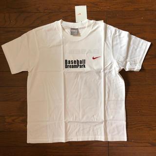ナイキ(NIKE)の新品 NIKE kids Tシャツ  M 150  ワンポイント赤刺繍(Tシャツ/カットソー)