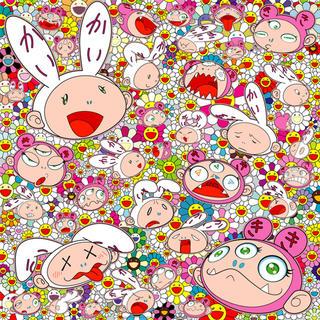 OFF-WHITE - 村上隆 ポスター 版画 苦しい時もあるだろさ カイカイキキ