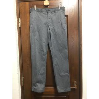 ユニクロ(UNIQLO)のズボン パンツ スラックス チノパン グレー 82 ユニクロ(スラックス)