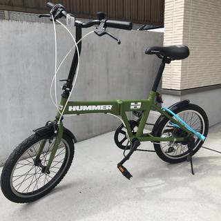 HUMMER - HUMMER * 折りたたみ自転車 6段ギア付き