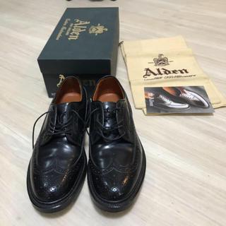 Alden - Alden オールデン ウィングチップ 9751