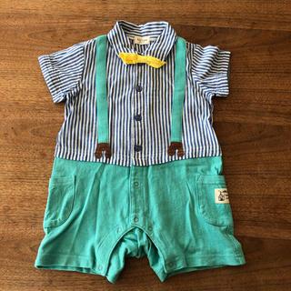 キッズズー(kid's zoo)のロンパース 80 キッズズー 子供服 夏服(ロンパース)