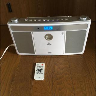 コイズミ(KOIZUMI)のCDラジオ リモコン付き(ポータブルプレーヤー)