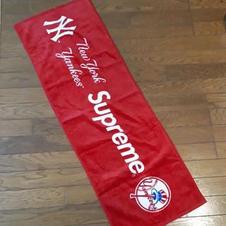シュプリーム(Supreme)のsupreme×NYYankees コラボタオル(タオル/バス用品)