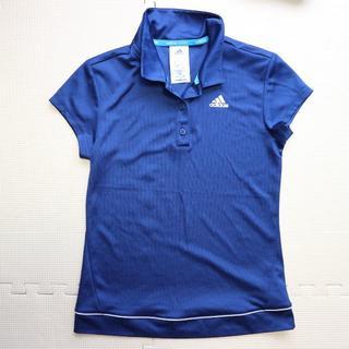 アディダス(adidas)の美品アディダス/スポーツ半袖ポロシャツS-M/レディース テニス (ウェア)