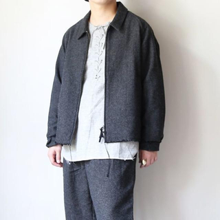 コモリ(COMOLI)のbukht COTTON WOOL TWEED  BLOUSON(ブルゾン)