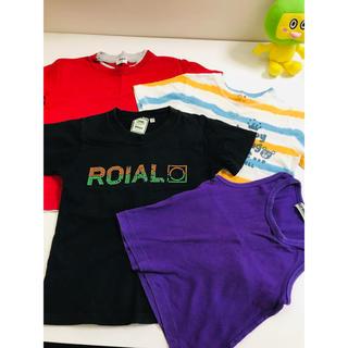 e09a0cac7b944 ロイヤル(roial)のroial UNIQLO Tシャツ 4枚セット