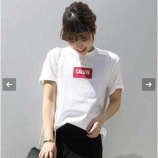 カルバンクライン(Calvin Klein)のあや様専用AP STUDIO カルバンクライン ボックスロゴ Tシャツ 38(Tシャツ(半袖/袖なし))