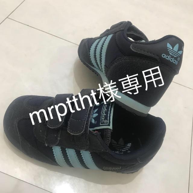 adidas(アディダス)の♡美品アディダススニーカー14♡ キッズ/ベビー/マタニティのベビー靴/シューズ(~14cm)(スニーカー)の商品写真