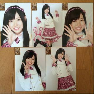エヌエムビーフォーティーエイト(NMB48)のNMB48 渡辺美優紀 初期 生写真 5枚セット AKB48(アイドルグッズ)