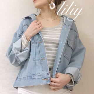 ジーユー(GU)の完売GU♡オーバーサイズデニムジャケット(Gジャン/デニムジャケット)