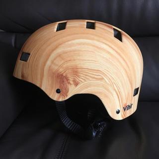 ヘルメット  ウッド