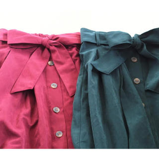 シマムラ(しまむら)のフロントボタン スカート M(ロングスカート)