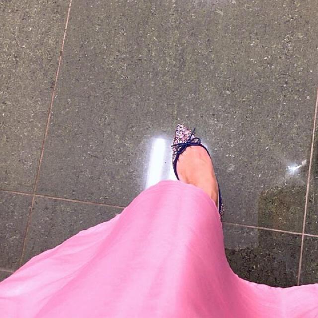 DIANA(ダイアナ)のグリッターパンプス💖 レディースの靴/シューズ(バレエシューズ)の商品写真