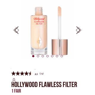 セフォラ(Sephora)のCharlotte Tilbury flawless filter 1 Fair(ファンデーション)