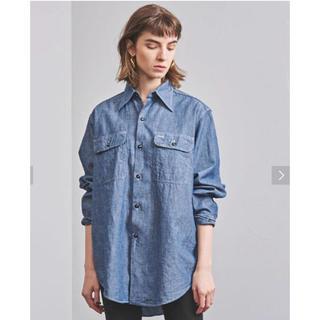 マディソンブルー(MADISONBLUE)のマディソンブルー MADISON BLUE ハンプトン シャンブレーシャツ(シャツ/ブラウス(長袖/七分))