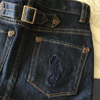 ラルフローレン(Ralph Lauren)のラルフローレン RALPH  LAUREN デニムミニスカート サイズ100(スカート)