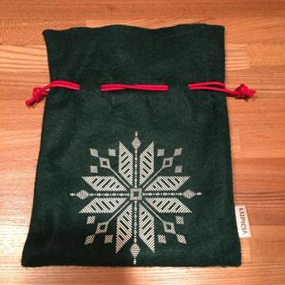 【同梱無料】LUPICIA クリスマス巾着