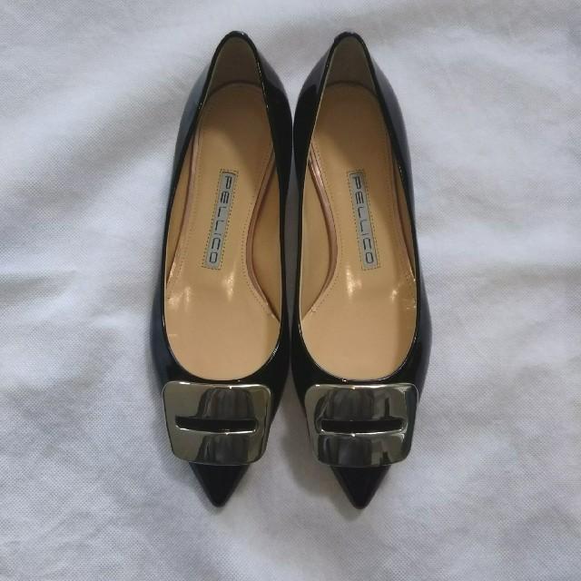 PELLICO(ペリーコ)の【新品】 PELLICO FIBIA フラットパンプス34 レディースの靴/シューズ(ハイヒール/パンプス)の商品写真