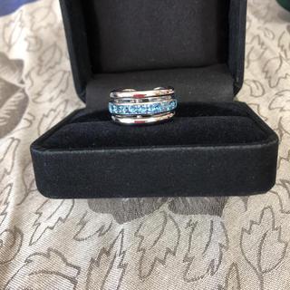 ANTONINI アントニーニ   トパーズ  k18 イタリア ブルー リング(リング(指輪))