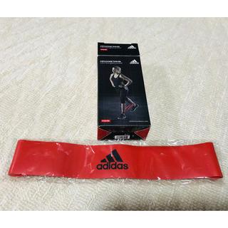 アディダス(adidas)のadidas mini power bands 赤のみ 一本 未使用(トレーニング用品)