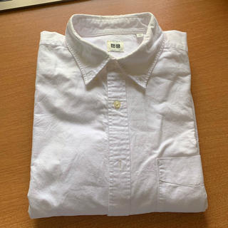 ユニクロ(UNIQLO)のユニクロ 長袖 白シャツ(シャツ)