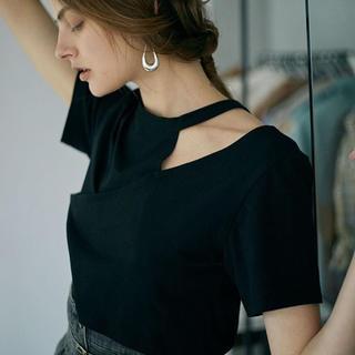 アメリヴィンテージ(Ameri VINTAGE)の未使用 ameri vintage  Tシャツ ブラック(Tシャツ(半袖/袖なし))
