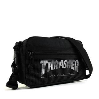 THRASHER - 【THRASHER】2Wayミニショルダー[BK/WH(メッシュ)]