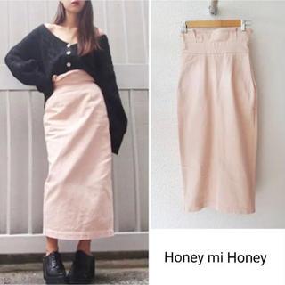 ハニーミーハニー(Honey mi Honey)の最終お値下げ‼️ハニーミーハニー   ハイウエストスカート(ロングスカート)