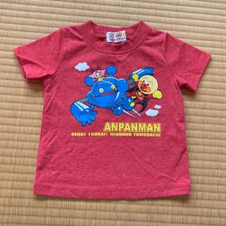 バンダイ(BANDAI)のアンパンマン Tシャツ 半袖 赤(Tシャツ)