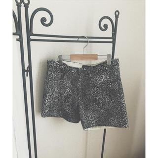 ドゥロワー(Drawer)のdrawer leopard short pants(ショートパンツ)
