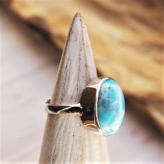 Larimar Ring 18388993-k レディースのアクセサリー(リング(指輪))の商品写真