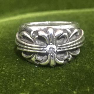 クロムハーツ(Chrome Hearts)のクロムハーツ 指輪 フローラルダイア(リング(指輪))