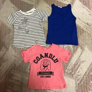 f6f12904cfdb1 ココルルミニ(CO LU MINI)のキッズ女の子120センチシャツセット(Tシャツ