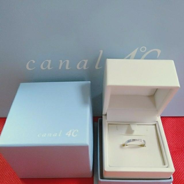 canal4℃(カナルヨンドシー)のcanaI4℃10ダイヤモンド💎リング レディースのアクセサリー(リング(指輪))の商品写真
