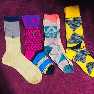 ヴィヴィアンウエストウッド(Vivienne Westwood)のヴィヴィアンウエストウッド 靴下4点セット(ソックス)