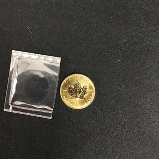 メイプルリーフ金貨 1/2oz 1枚 メープルコイン 1/2オンス  1987年(その他)