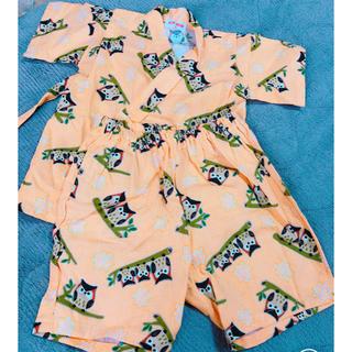 724125d0a8357 子供 甚平 浴衣(男の子)(オレンジ 橙色系)の通販 25点(キッズ ベビー ...