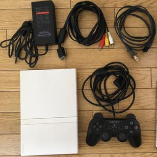 プレイステーション2(PlayStation2)のPS2 薄型 scph-75000動作良好 ★送料無料★(家庭用ゲーム本体)