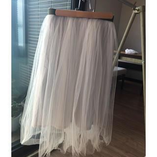 バビロン(BABYLONE)のチュールスカート(ひざ丈スカート)