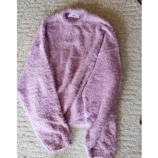 セレクト(SELECT)のセレクトモカ 薄紫ニット(ニット/セーター)