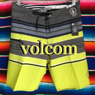 ボルコム(volcom)のVOLCOMボルコムUSA限定★サーフトランクス海パン30インチ76cm(サーフィン)