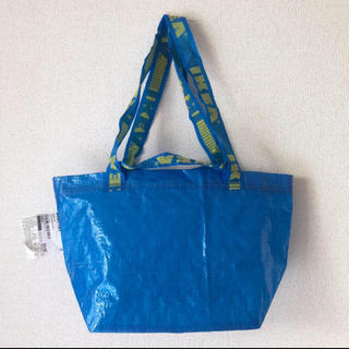 イケア(IKEA)の 新品♡IKEA ブルーバッグS♡27cm×27cmキャリーバッグBRATTBY(エコバッグ)
