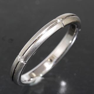 ティファニー(Tiffany & Co.)のティファニー TIFFANY&CO.ストリーメリカ ダイヤリング 11号 仕上済(リング(指輪))