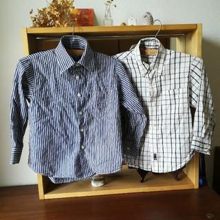Kansai Yamamoto - 子供用ボタンシャツ*110サイズ*kansai yamamoto